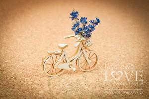 Tekturka - Rower 3D - Sweet Lavender