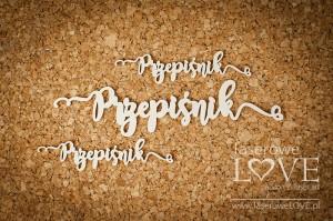 Tekturka - Napis - Przepiśnik - Kitchen Time