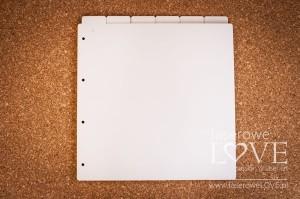 Zakładki do albumu 30x30 cm - Pionowe