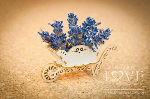Tekturka - Taczki 3D - Sweet Lavender