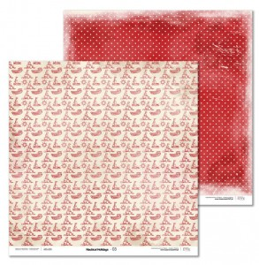 Papier 30x30 cm - Nautical Holidays - 03 Laserowe LOVE