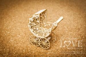 Tekturka - Wózek 3D - Baby lily