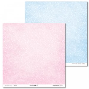 Papier 30x30 cm - Pink and Blue JOY - 01 - Laserowe LOVE