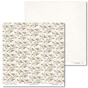 Papier 30 x 30 cm - Lily Flower - 05 - Laserowe LOVE