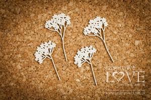 Tekturka - Kwiaty krwawnika - Wedding Day