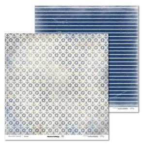 Papier 30x30 cm - Nautical Holidays - 02 Laserowe LOVE