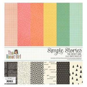 Zestaw papierów - The Reset Girl Collection 30x30 cm Simple Stories