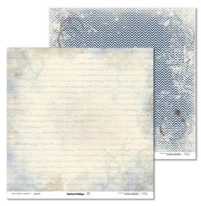 Papier 30x30 cm - Nautical Holidays - 01 Laserowe LOVE