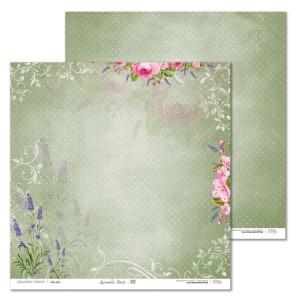 Papier 30x30 cm - Lavender Date - 02 Laserowe LOVE
