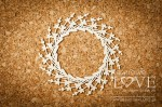 .Chipboard - Wreath - Sweet Lavender