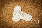 .Chipboard - Shoes for a boy - Baby lily