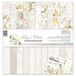 Set of papers - Holy & White - 30,5 cm x 30,5 cm - Laserowe LOVE