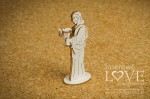 Chipboard - Jesus, 3D - First Communion - Holy & White