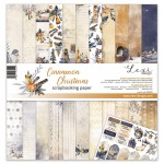 Set of papers 30x30 cm  - Cinnamon Christmas - Lexi Design