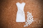 Chipboard - Mom's dress - Flower