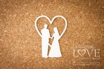 .Chipboard - Couple under the heart- Old Town
