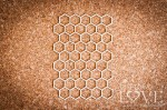 Chipboard - Honeycomb Back to school