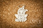 .Chipboard - Angel girl 2 items - Emma & Billy