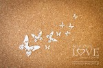 Chipboard - Butterflies - set - Soufre