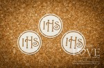 .Chipboard - Simple host  flourish- Significato 6 pieces