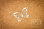 Chipboard - Butterfly - Soufre