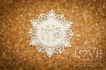.Chipboard - Openwork grate with an oval - Significato