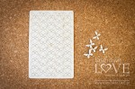 Chipboard - Butterflies - set in a blister - Soufre