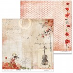 Papier 30x30 cm  - Blooming Lullaby 10 -  Lexi Design