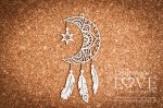 Chipboard - Dreamcatcher Moon Indiana