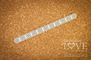 Chipboard - Lace Kalina- Dentelle