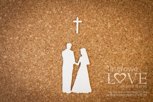 .Chipboard - Couple under the cross - Old Town