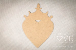 Hdf -  Heart with crown