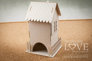 .Chipboard - Tenement house tea box - Yellow Spring