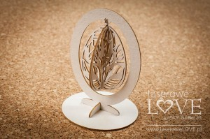 Chipboard - Hanging easter egg - Yellow Spring