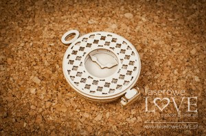 Chipboard -  Pocket watch 3D - Vintage Gentelman