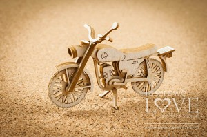 Chipboard - WSK motorcycle 3D - Vintage Gentleman