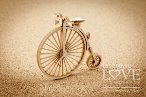 Chipboard - Bicycle 3D - Vintage Gentleman