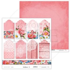 Papier 30 x 30 cm - Coral Romance - 06 - Laserowe LOVE