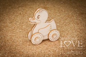 Chipboard -  Duck 3D -  Baby Boom
