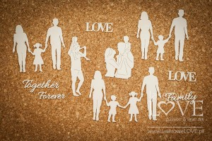 Chipboard - Family -  Baby Boom