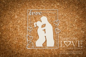 Chipboard - Couple in pregnant -  Baby Boom