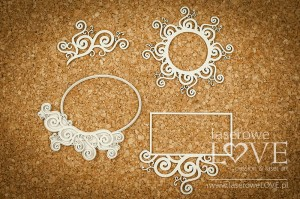 Chipboard - Frames - Halloween Time
