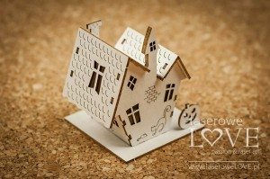 Chipboard - Haunted house 3D - Halloween Time