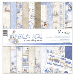 Set of papers - Winter Tales - 30,5 cm x 30,5 cm - Lexi Design