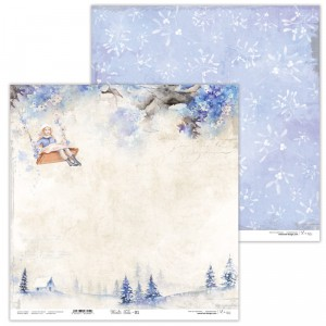 Papier 30x30 cm  - Winter Tales - 01 - Lexi Design