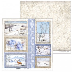 Papier 30x30 cm  - Winter Tales - 08 -  Lexi Design