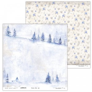Papier 30x30 cm  - Winter Tales - 10 -  Lexi Design