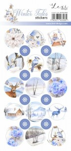 Set of stickers  - Winter Tales - 03 -  Lexi Design