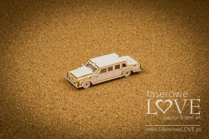 Chipboard - Limousine, 3D - Holy & White
