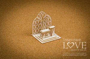Chipboard - Altar, 3D - Holy & White